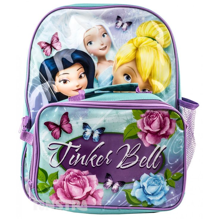 Disney Fairies Backpack and Cooler Bag