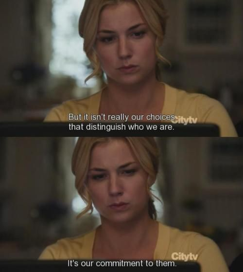Revenge TV Show Update | Tagged: tv shows revenge tv series choices life quotes