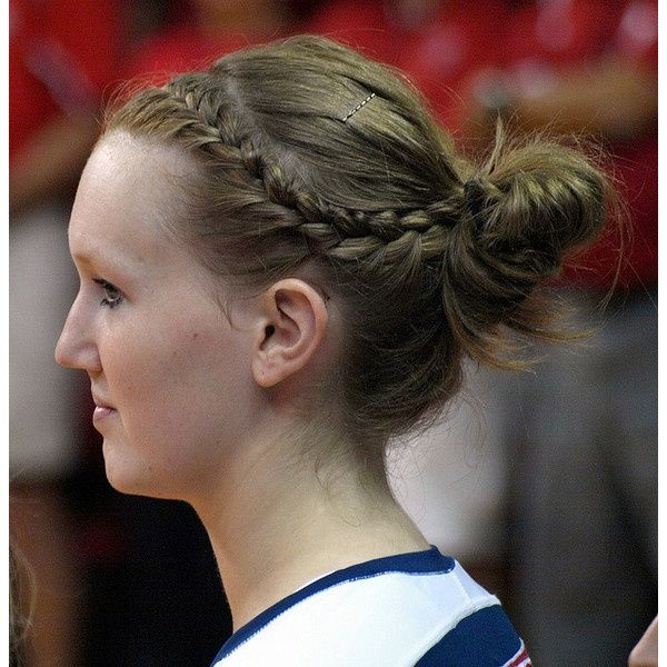 Best Volleyball Hair Dont Care Images On Pinterest - Bun hairstyle games