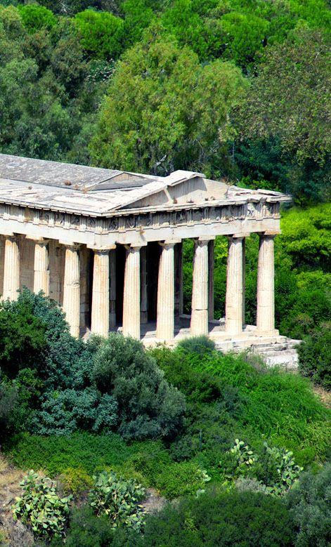 Hephaestus Temple, Athens, Greece.