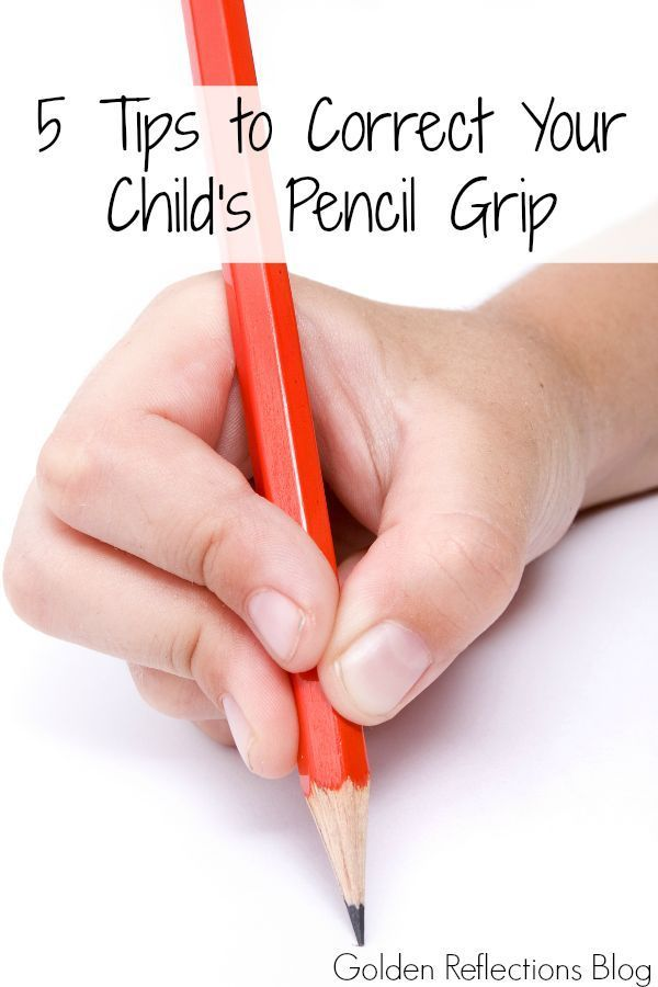 Does your child use a funny pencil grip? Here are 5 tips to help correct your child's pencil grip.