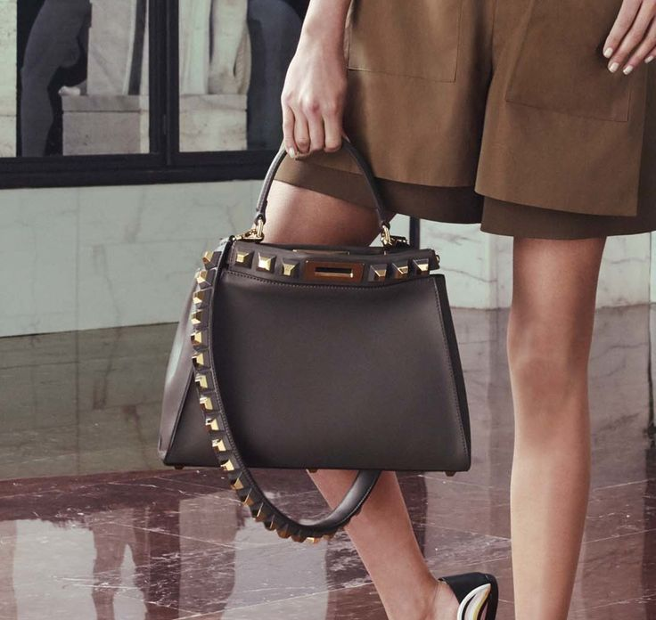 Fendi Sticks to the Fan Favorites for Its Resort 2017 Bag Collection
