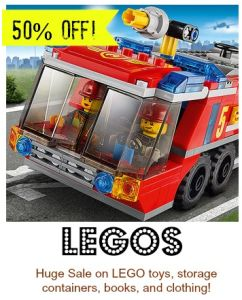 HOT Lego Sale on Zulily – Save up to 50FF Clothes, Books and More