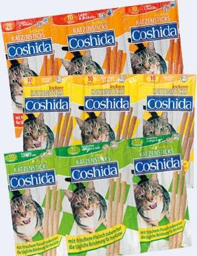 Coshida prigrizek za mačke 10x5g