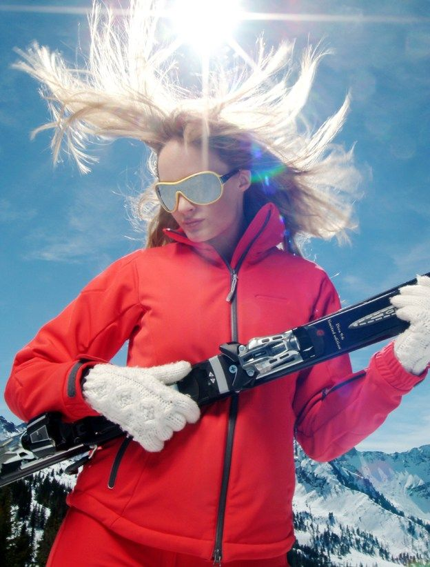 How to 'do' skiing hair