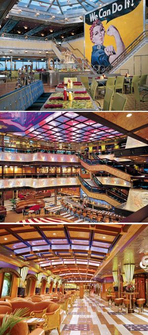 Carnival Valor cruises > ship reviews > photos pictures > itinerary | The Cruise Web