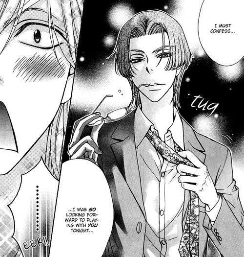 Rei seducing Shougo, love stage