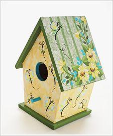 die besten 17 ideen zu vogelhaus bemalen auf pinterest. Black Bedroom Furniture Sets. Home Design Ideas