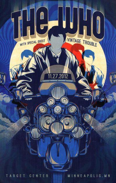The Who - Target Center - Minneapolis, MN - November 27, 2012 USA