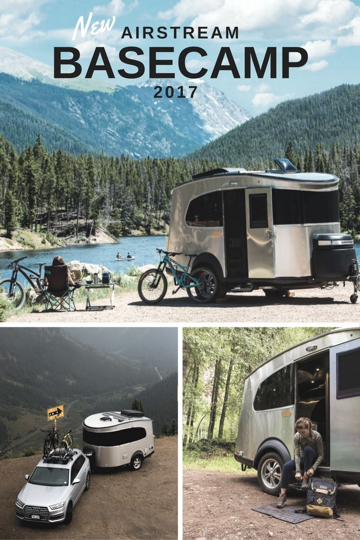 Meet the new 2017 Airstream Basecamp travel trailer! | Woodland Travel Center | #Airstream #Camping #TravelTrailer #Outdoors