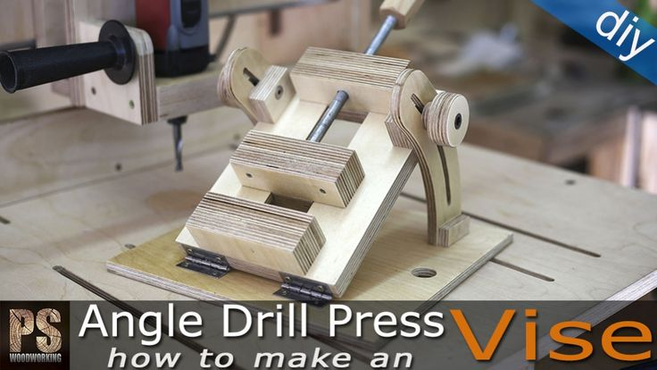 Today I'll make an angle drill press vise that will allow me to drill and mill holes at an angle.