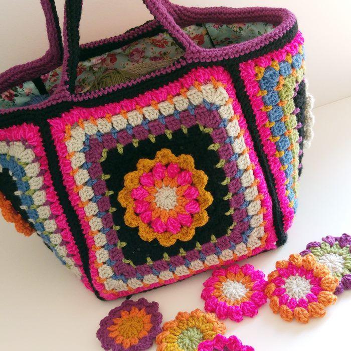Die 19 besten Bilder zu crochet-bags auf Pinterest | kostenlose ...