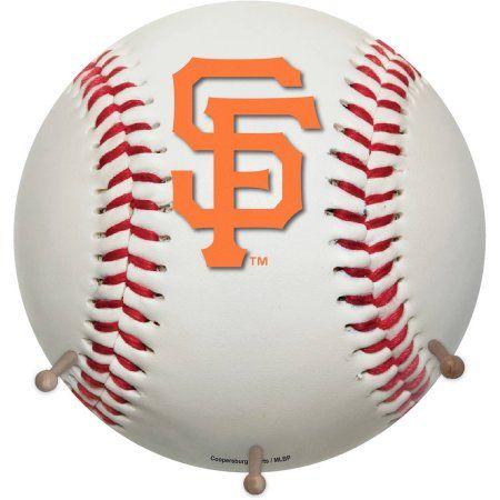 MLB San Francisco Giants Baseball Coat Rack, White