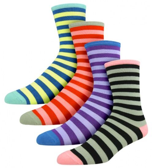 Bamboo Stripe Socks