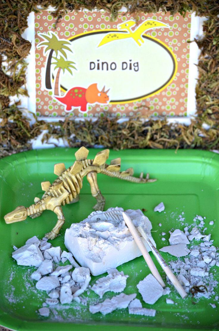 45 best Dinosaur Birthday Party Ideas images on Pinterest