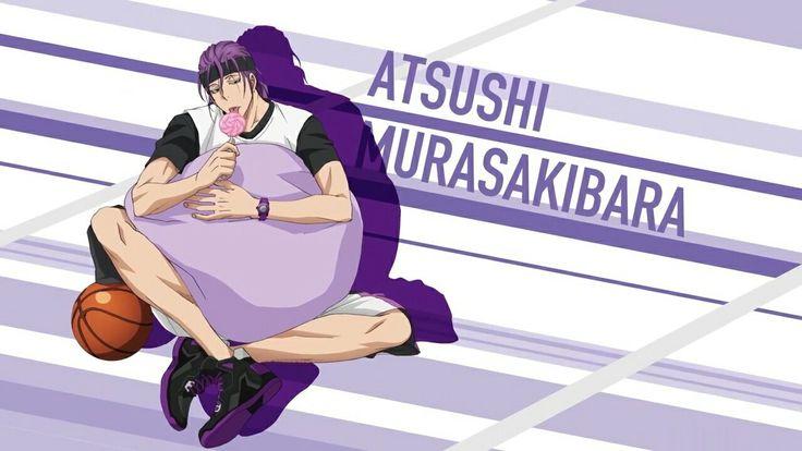 Kuroko no basuke || Murasakibara atsushi || yosen school || generation of miracles || kiseki no sedai