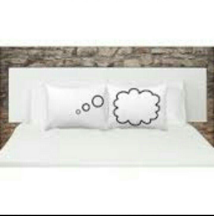 Çiftler için yastık