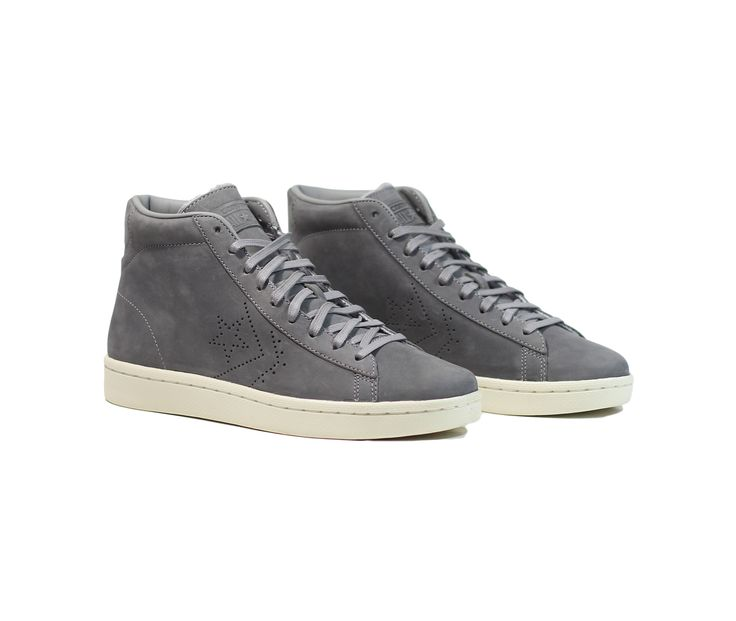 Converse Pro Leather 76 Mid - Dolphin/Parchment