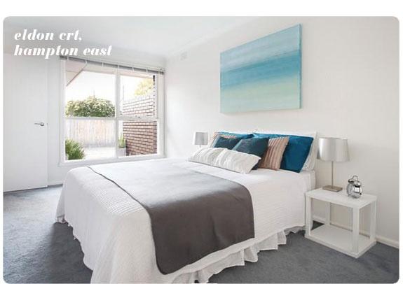 Hampton East flat Bedroom