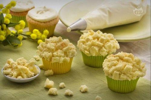 Cupcake Mimosa per la Festa della Donna @gardaconcierge #ricette