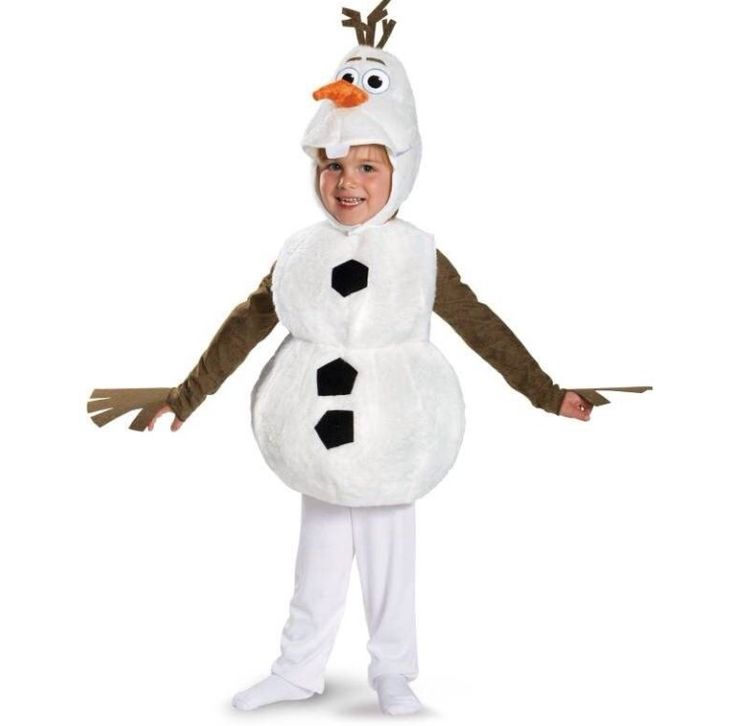 Kinder kostuum Olaf Frozen