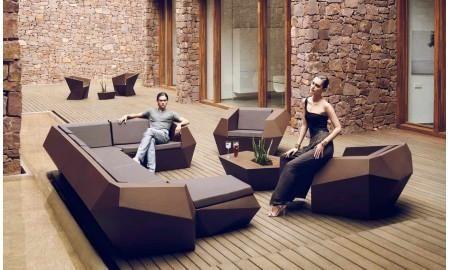 Geometric Lounge Chair