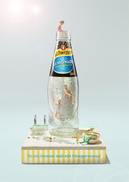 Schweppes Lemonade - www.jamesgreen.com.au