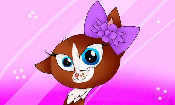 My LPS character (Littlest pet shop #1864) by palotasadel11