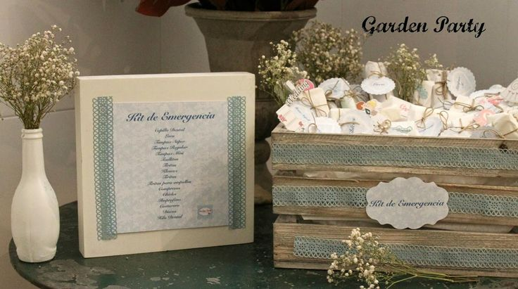¡Pon un kit de baño en tu boda para emergencias! ¡Una idea genial!