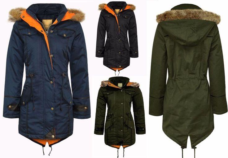 Womens Ladies Parka Fur Jacket Coat Oversized Trench Fishtail Long Hooded Winter    #Womens #Ladies #Parka #Fur #Jacket #Coat #Oversized #Trench #Fishtail #Winter #parkacoat #parkajacket #fishtailcoat #longwintercoat #longcoat #winter #wintercoat #flirtywardrobe - £29.99    http://www.ebay.co.uk/itm/Womens-Ladies-Parka-Fur-Jacket-Coat-Oversized-Trench-Fishtail-Long-Hooded-Winter-/302105745884?roken=cUgayN via eBay.co.uk eBay Ebay Altamura eBay India Amazon.com Amazon.co.uk Amazon.it