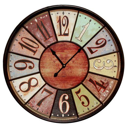 Multi Color Metal Framed Clock - Rodworks