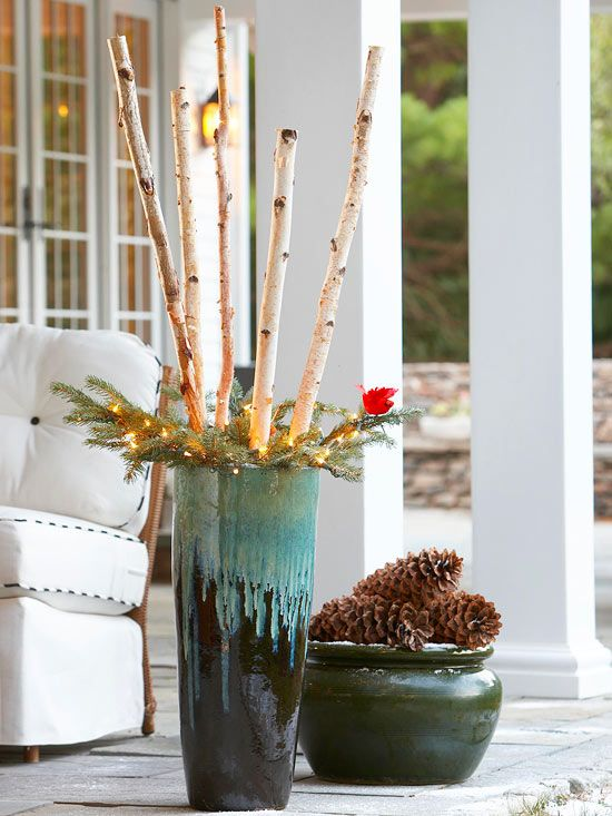 Holiday Inspired Outdoor Decorating That Lasts Gardens