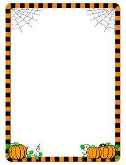 free halloween clip art borders and frames - Bing Images ...