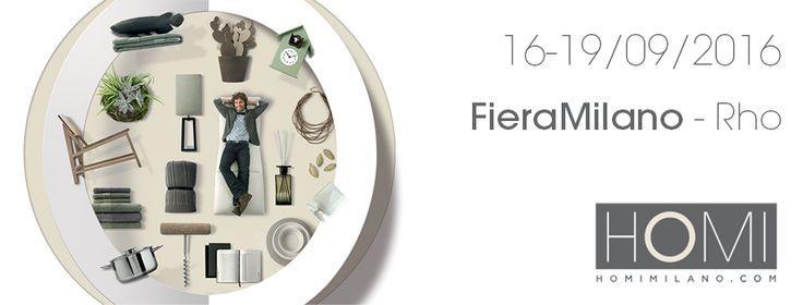 Grandi preparativi: la nostra azienda sarà presente a Homi Milano a settembre. PADIGLIONE 4 / STAND L28 #madeinitaly