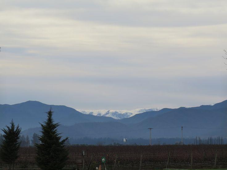 Cordillera nevada desde ViñaMar