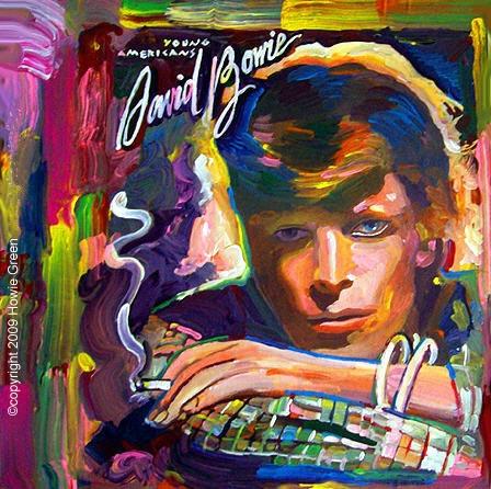 Resultado de imagen de YOUNG AMERICANS ARTWORK