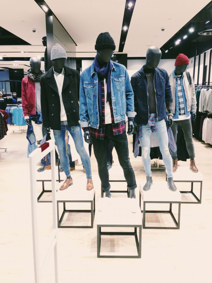 TOPMAN winter casual styling at Emporium Melbourne