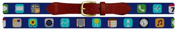 Classic Phone App Belt Needlepoint Kit