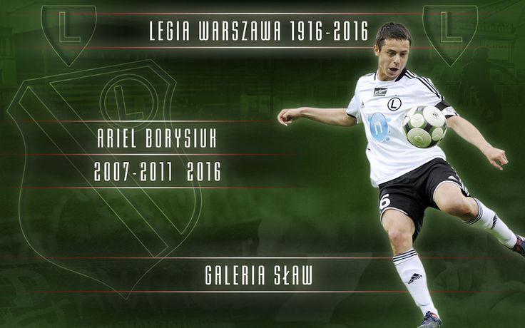 FotoGrafika Legia Warszawa 1916-2016: ARIEL BORYSIUK