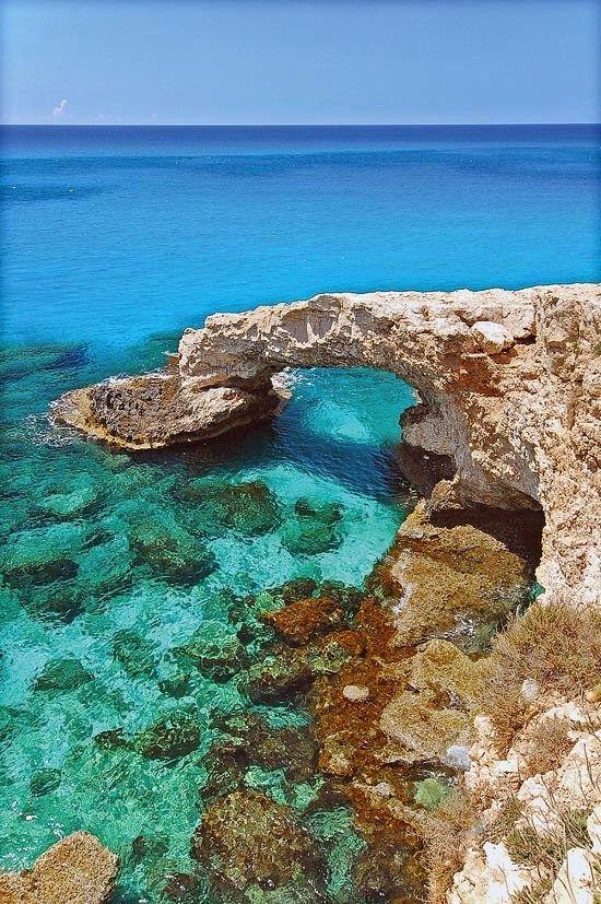 Sea Caves in Paphos Cyprus
