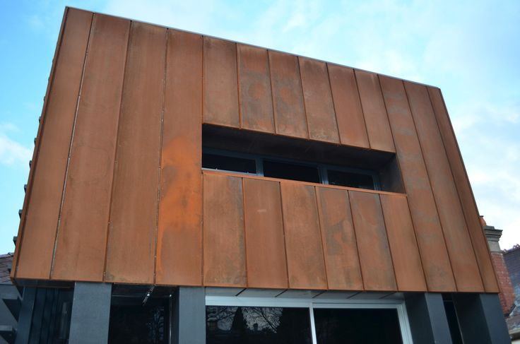 Cassette Panel Corten House Cladding Cladding