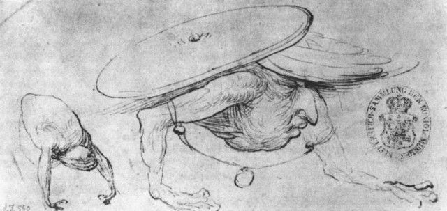 bosch drawings | Hieronymus Bosch - Studies of Monsters 1