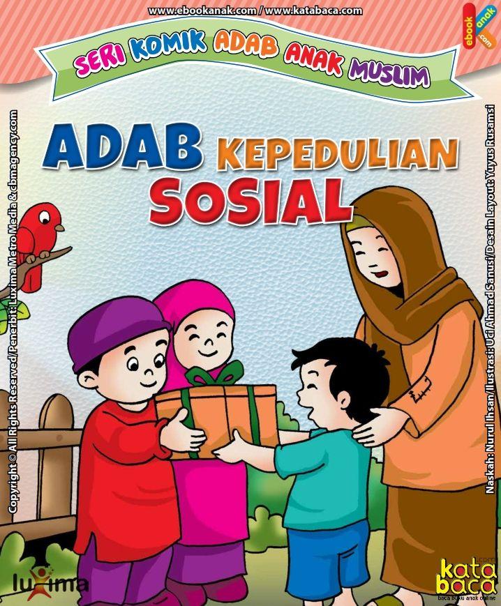 Baca Komik Islam Online Adab Kepedulian Sosial Katabaca Com