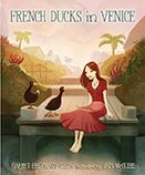 """The book """"French Ducks in Venice"""" is about a wonderful friendship between Polina, a Russian Dress Maker, and Georges and Cecile, two french duck siblings who live in Venice, California. The magical friendship between talking ducks and talented clothes designer Polina was painted throughout the book softly and calmly as if looking at a beautiful watercolor painting.  My favorite part of the book was a dreamy illustration by Erin Mcquire. McGuire captured the beauty of the canal city, Venice…"""