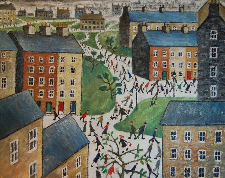 Paul Robinson-norfolk & london paintings-oil