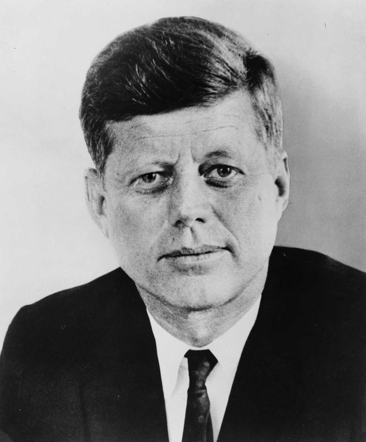 dit is President John F. Kennedy. Hij was een van de hoofdrol spelers in de koude oorlog