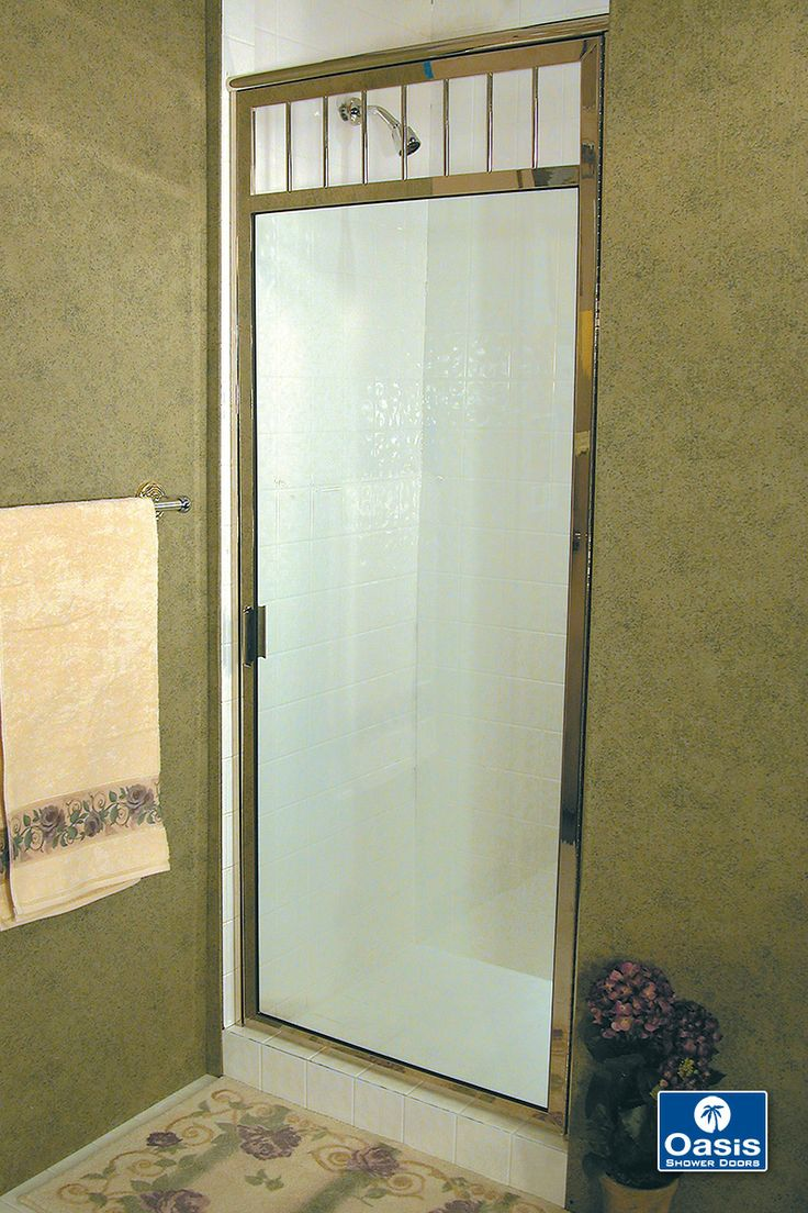 How to replace shower door drip rail - Oasis Fully Framed Shower Doors Feature Plated Over Solid Brass Framing And 1 4