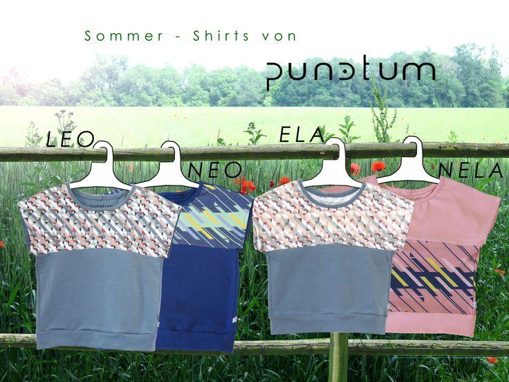 Sommerzeit ist Shirtzeit ... Shirt LEO, NEO & ELA, NELA...