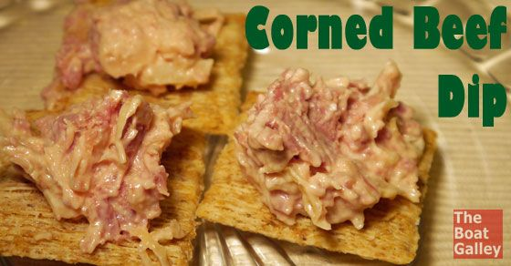 Corned Beef Dip -Quick and easy dip made with canned corned beef ...