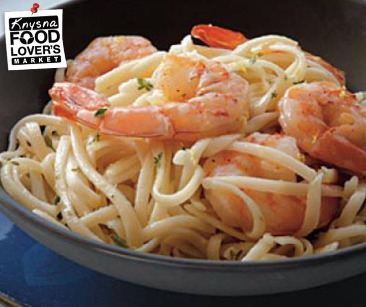 Try this Linguine with Peppery Shrimp recipe: A generous amount of black pepper brings some welcome heat to this pasta dish. Full Recipe, click here: http://apost.link/5wZ. Remember to pick up your favourite #GlutenFree pasta from Food Lover's Market Knysna. #recipe #FLMKnysna